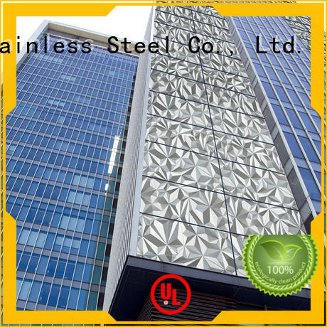 fashion design metal building cladding wall Suppliers for elevator