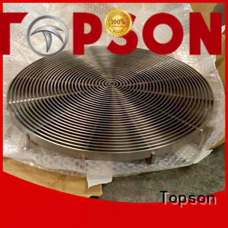 Topson elegant stainless steel grating research for apartment