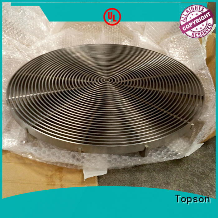 Topson fashion perforated grating for tower