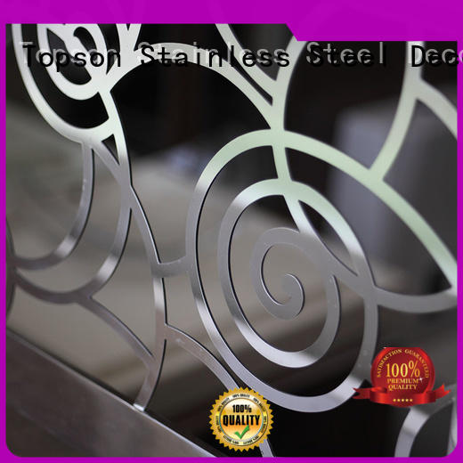 high-tech stainless steel deck railing curved for building