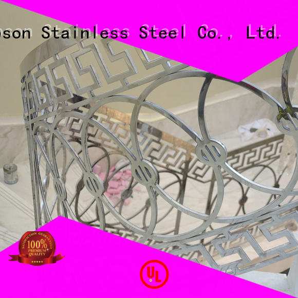 Topson good looking stainless stair railing workshops for room