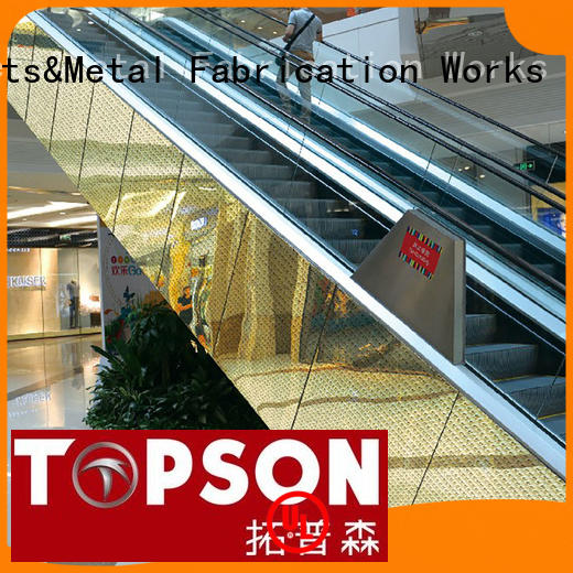 Topson steel metal cladding for wholesale for elevator