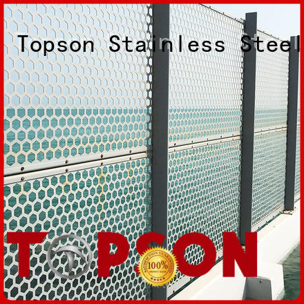 Topson screen metal works for business for curtail wall