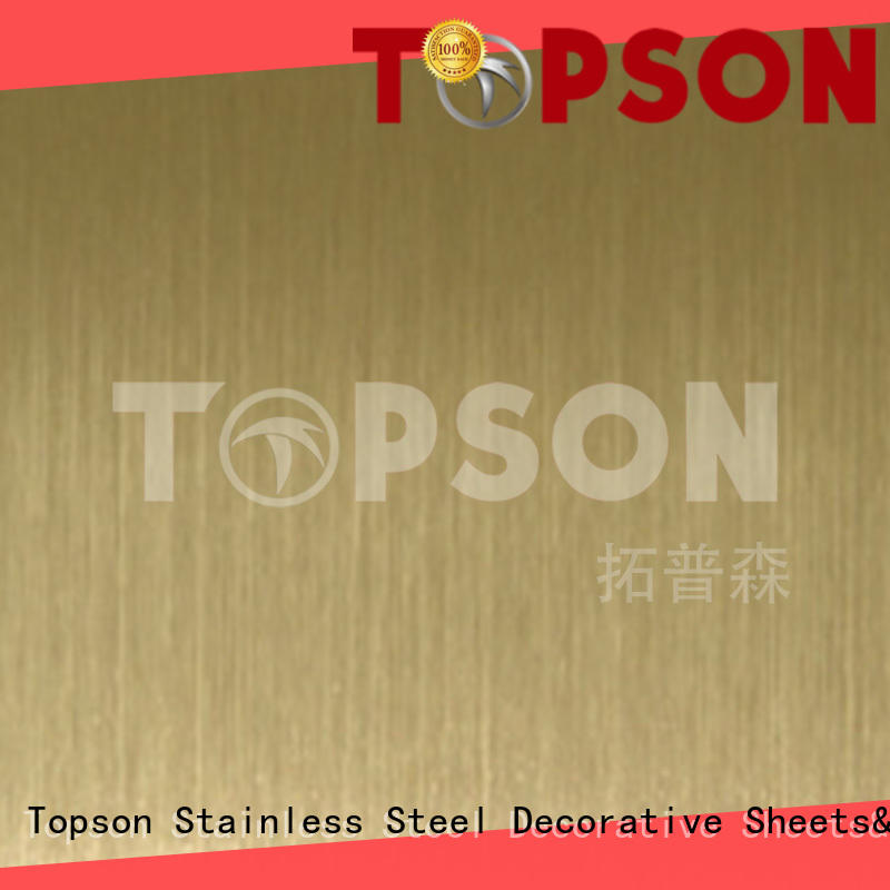 gorgeous decorative stainless steel sheet hairline for interior wall decoration