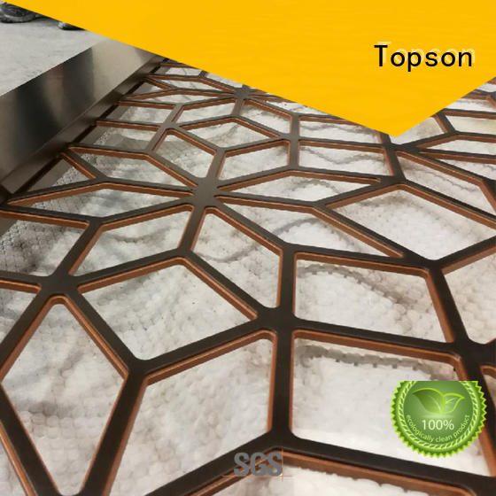 Topson stable metal screen manufacturers export for landscape architecture