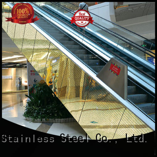 elegant stainless steel cladding panels stainless Supply for lift