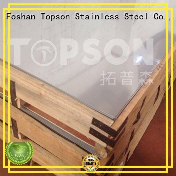 stainless steel panels finish for elevator for escalator decoration Topson