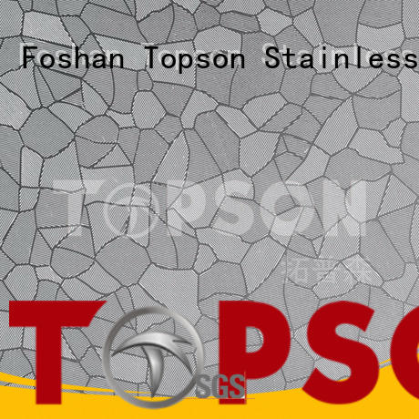 Topson sheet stainless steel sheets circuit for interior wall decoration