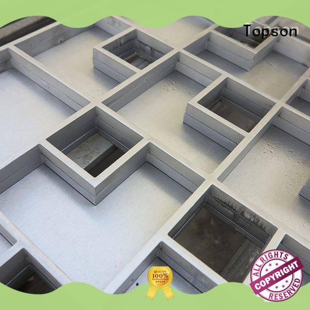 Topson popular stainless steel floor access covers tray for bridge corridor for area building