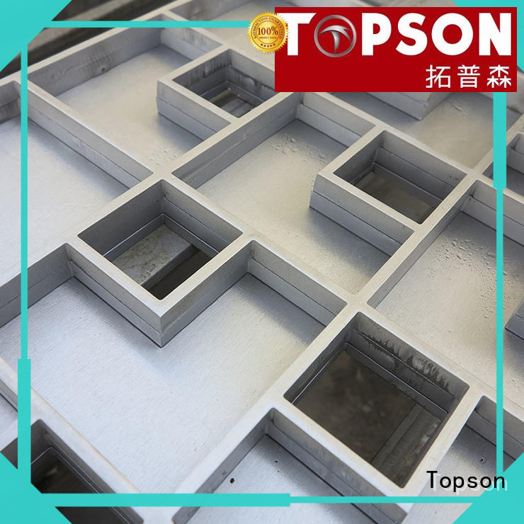 elegant stainless manhole cover tray company for office