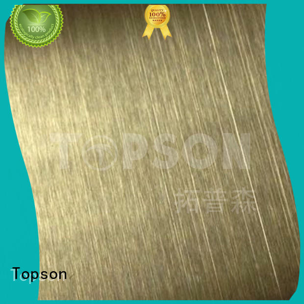Top stainless steel sheet metal brushed company for interior wall decoration