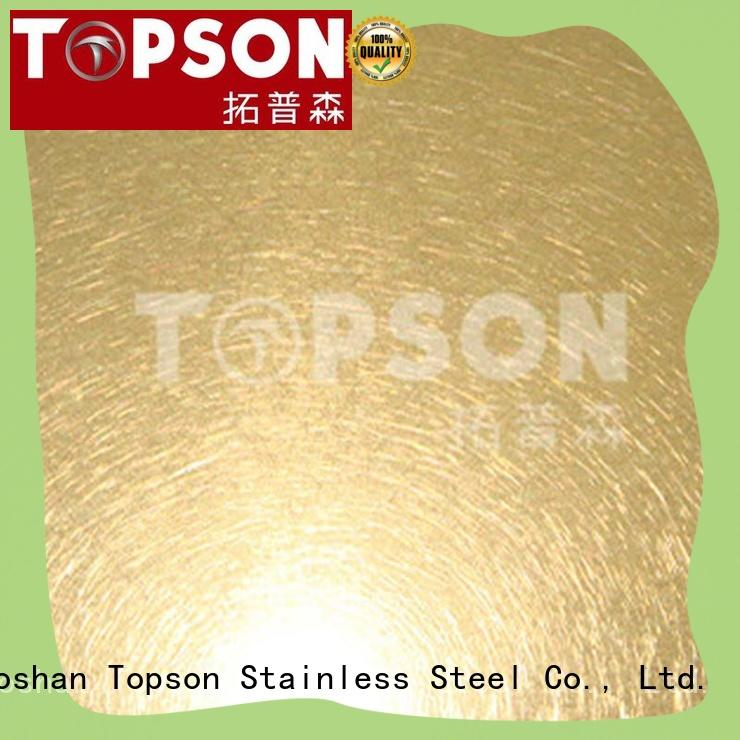 durable decorative stainless steel sheet metal containerization for elevator for escalator decoration Topson