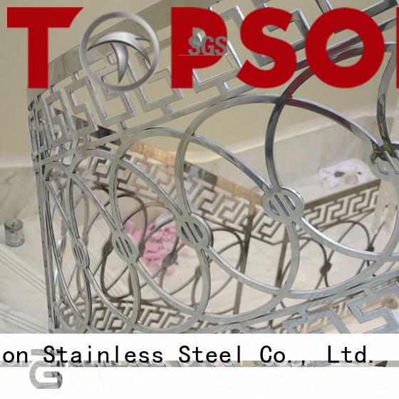Topson high-tech stainless railing systems manufacturers for office