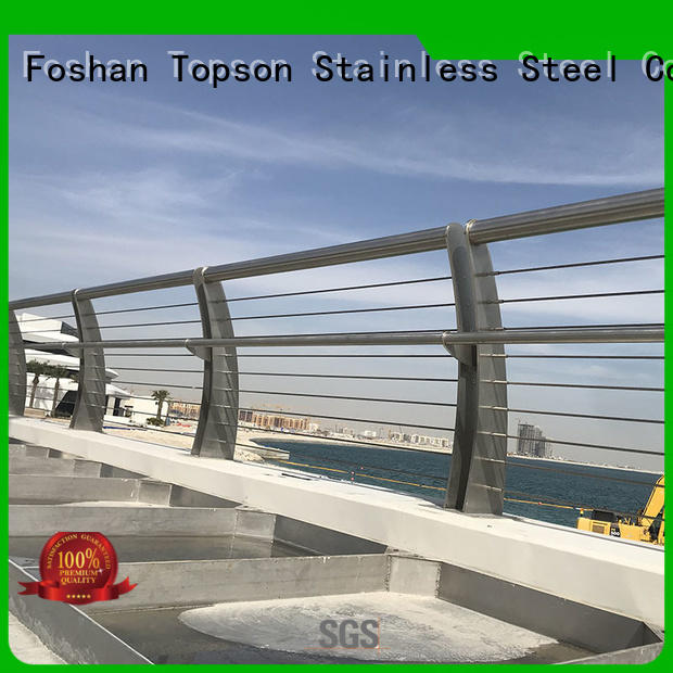 Topson stainless railings Suppliers for building