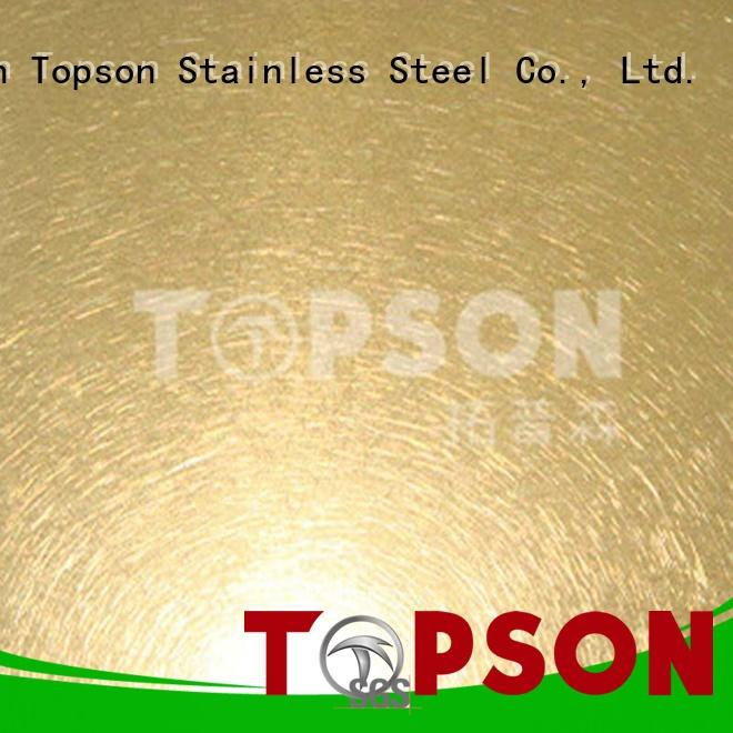 Topson sheetdecorative mirror finish stainless steel for business for furniture