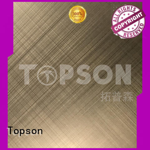 Topson stainless steel sheet metal manufacturers company for elevator for escalator decoration