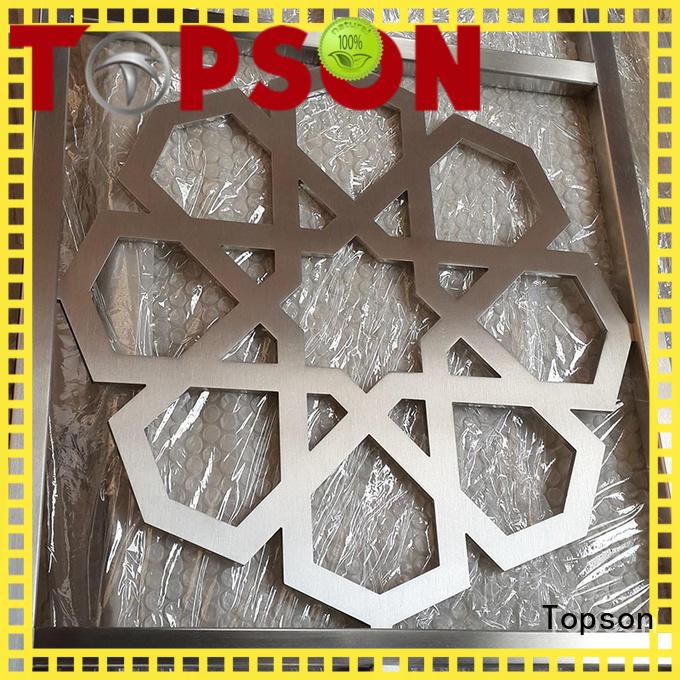 Best metal mashrabiya chain manufacturer for building faced