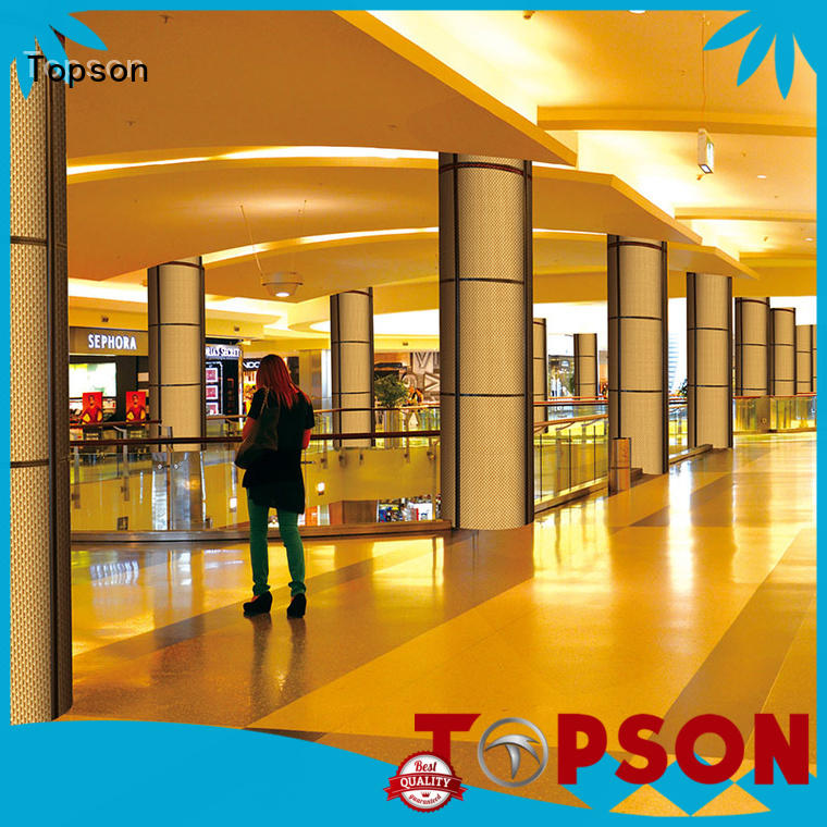 Topson High-quality exterior metal cladding in china for shopping mall