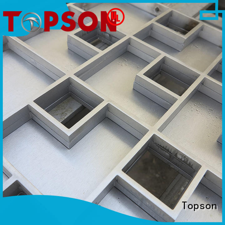 Topson elegant architectural metalwork Supply for apartment