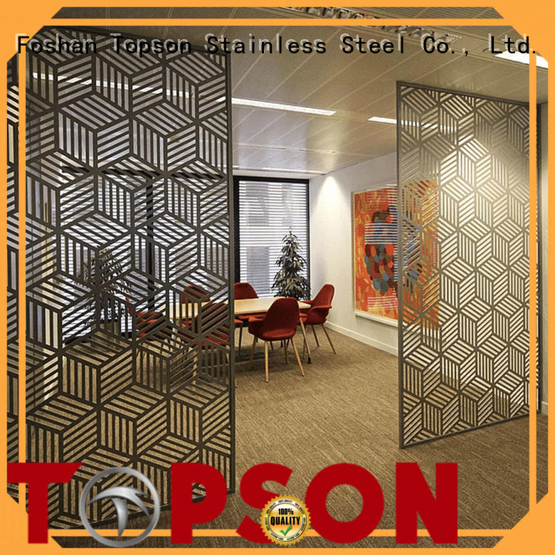 Wholesale metal works fabrication screen for business for exterior decoration
