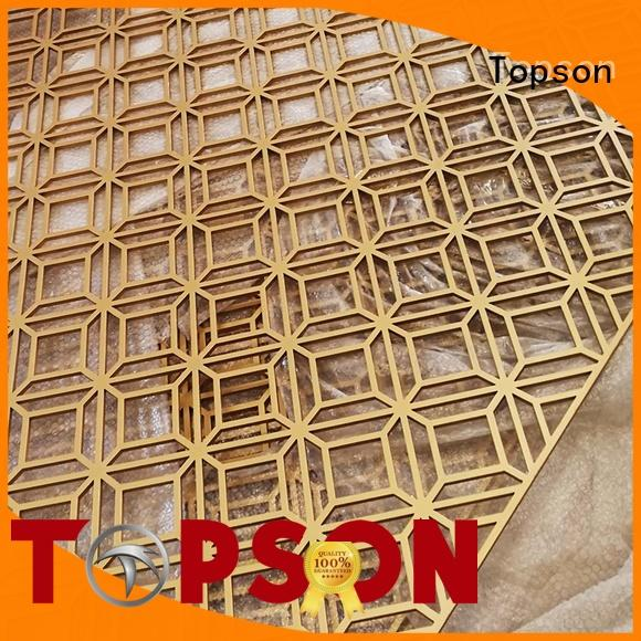 Topson special design metal works export for building faced