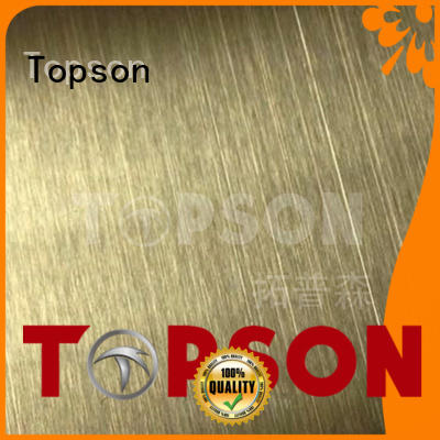 Topson colorful metal work supplies company for floor