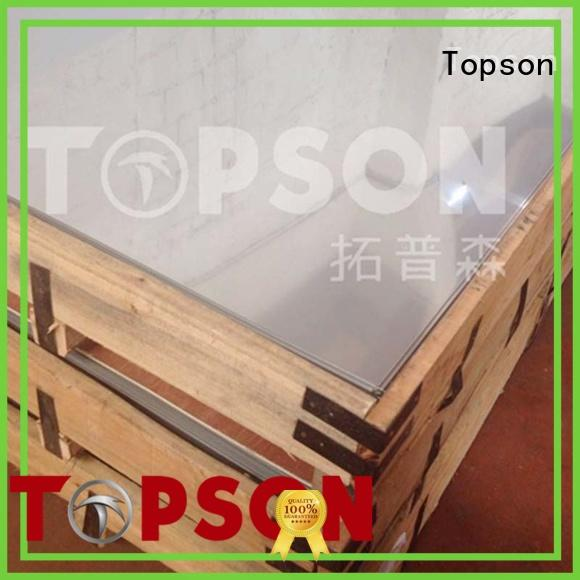 Topson Latest stainless steel etching sheet Suppliers for vanity cabinet decoration