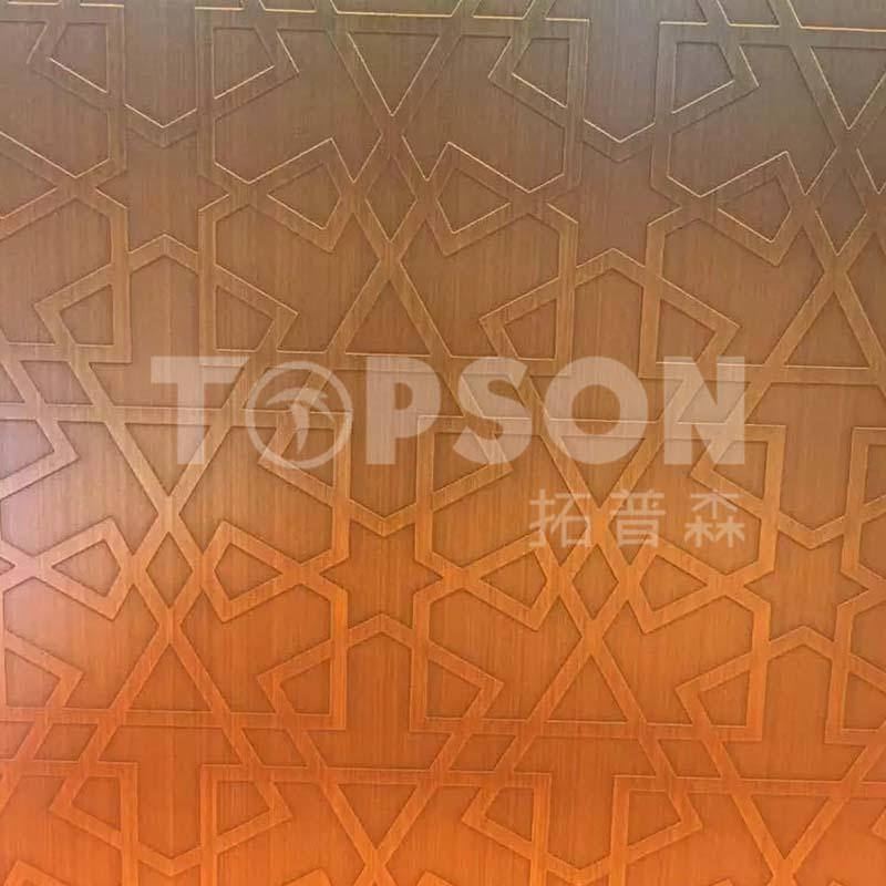 good-looking stainless steel etching sheet production for furniture-Topson-img-1