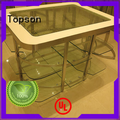 Topson stainless metal frame furniture steady for decoration