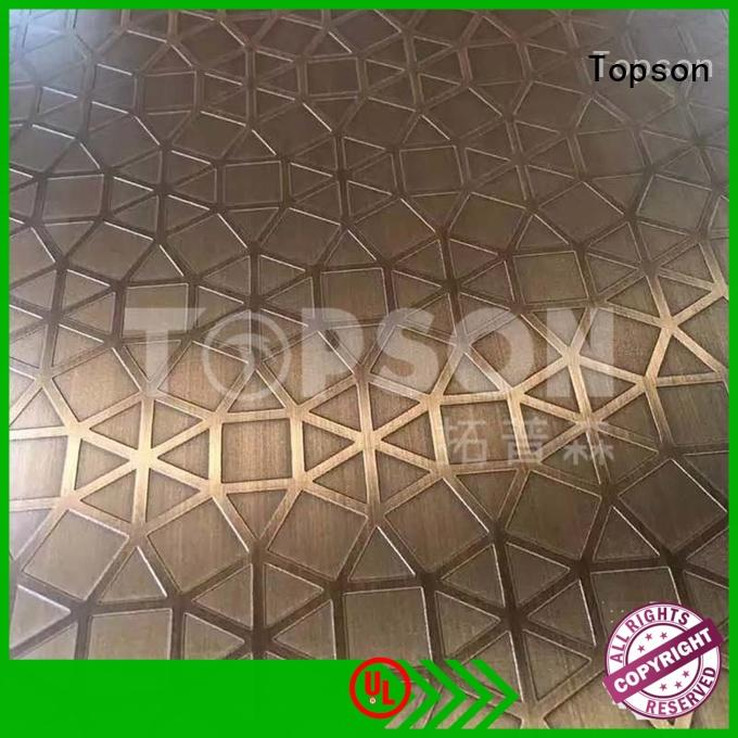 Topson gorgeous bead blasted stainless steel containerization for kitchen