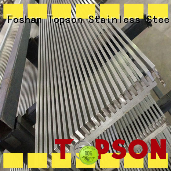 stainless steel grating steel for room Topson