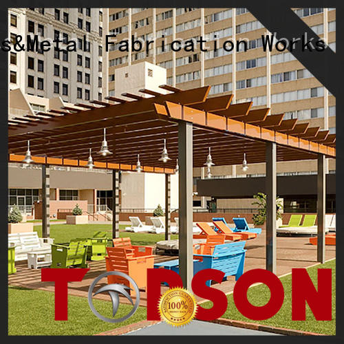 Topson aluminium pergola aluminium for backyard