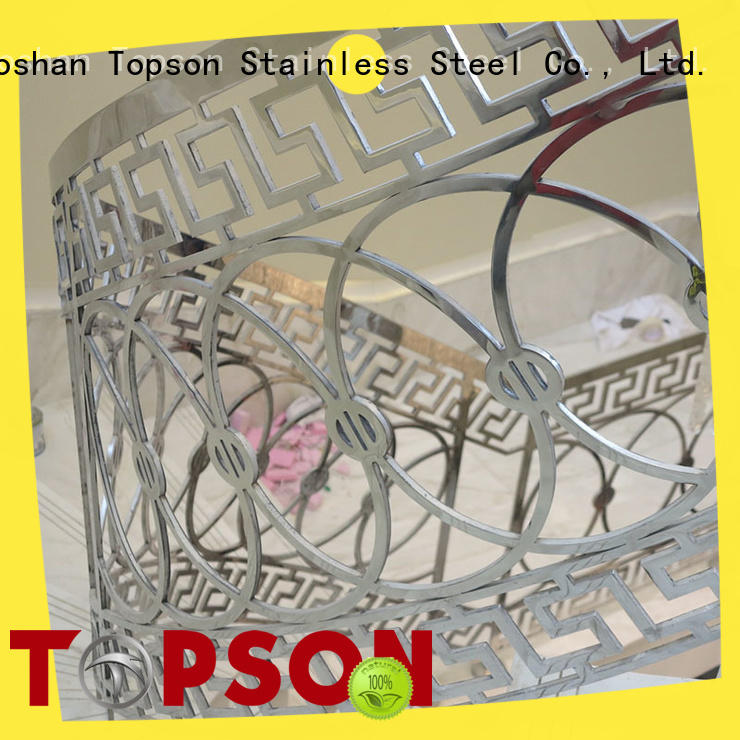 Topson steel stainless steel outdoor handrails Suppliers for tower