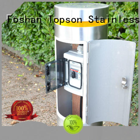 Topson high-tech stainless steel bollards management for apartment