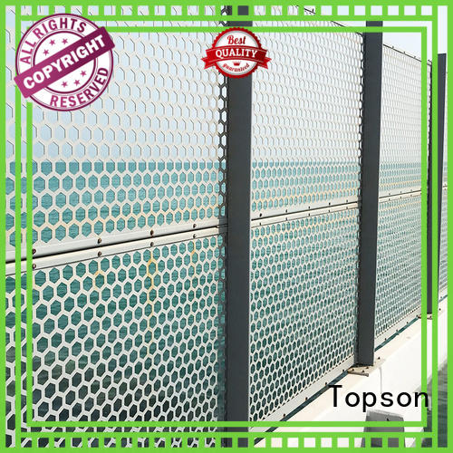 Topson screen decorative metal screen panels from china for exterior decoration