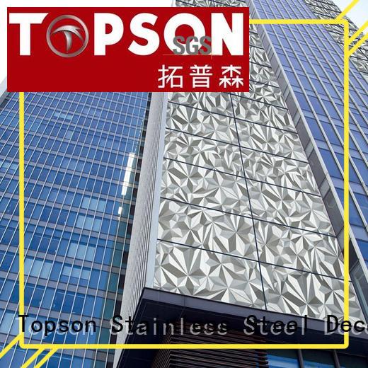 Stainless Steel External Cladding