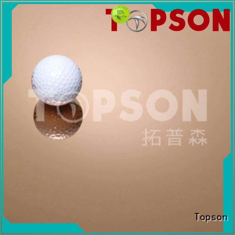 Topson decorative metal work supplies China for floor