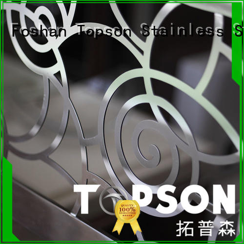 popular stainless steel deck railing stainless improvement for hotel