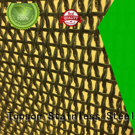 perforated decorative outdoor metal screen panels aluminium for landscape architecture Topson