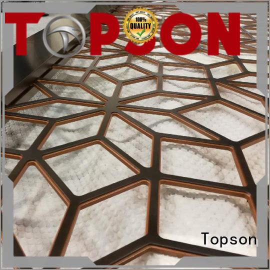 meshperforated metal works improvement for exterior decoration