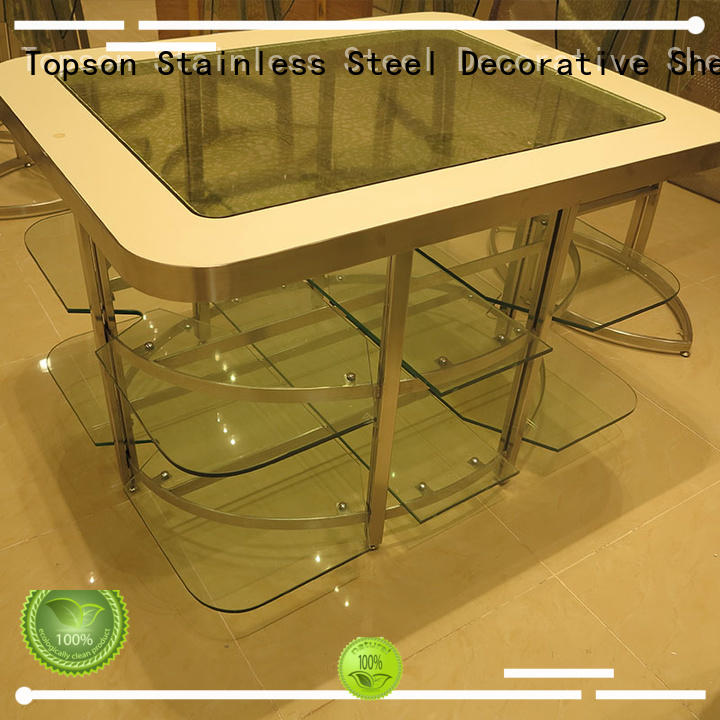 brushed stainless steel plate