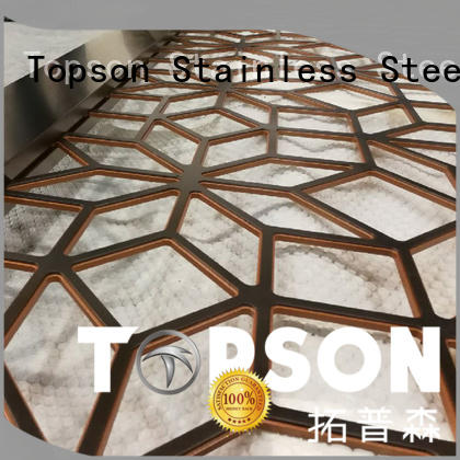 Topson external metal screen overseas market for protection
