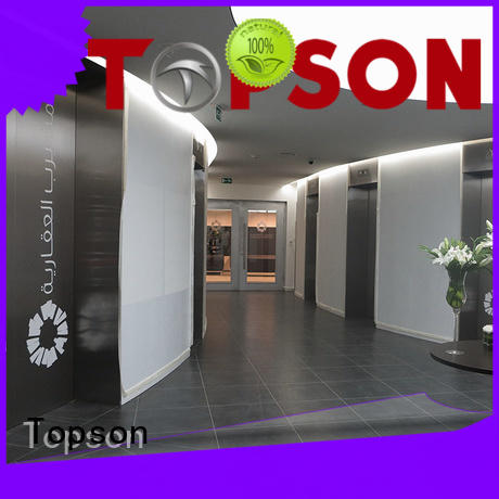 Topson high-tech stainless steel door price package for outdoor