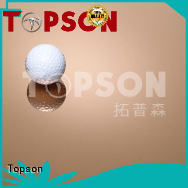 Topson cross stainless steel metal sheet prices speed for kitchen