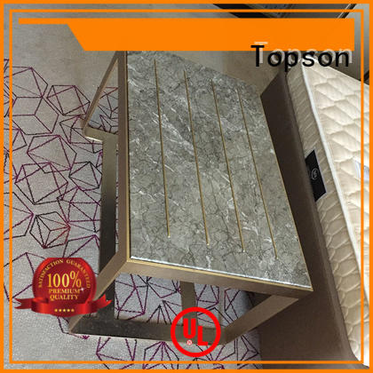 Topson stainless contemporary metal furniture for outdoor