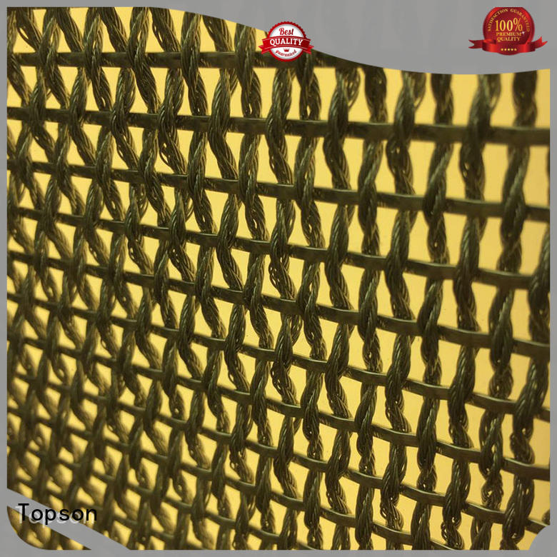 Topson screen perforated mesh screen Supply for landscape architecture
