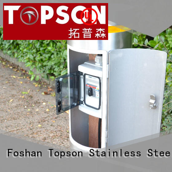 Topson stainless parking bollards for business for tower