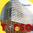 external metal screen panels steel for exterior decoration Topson