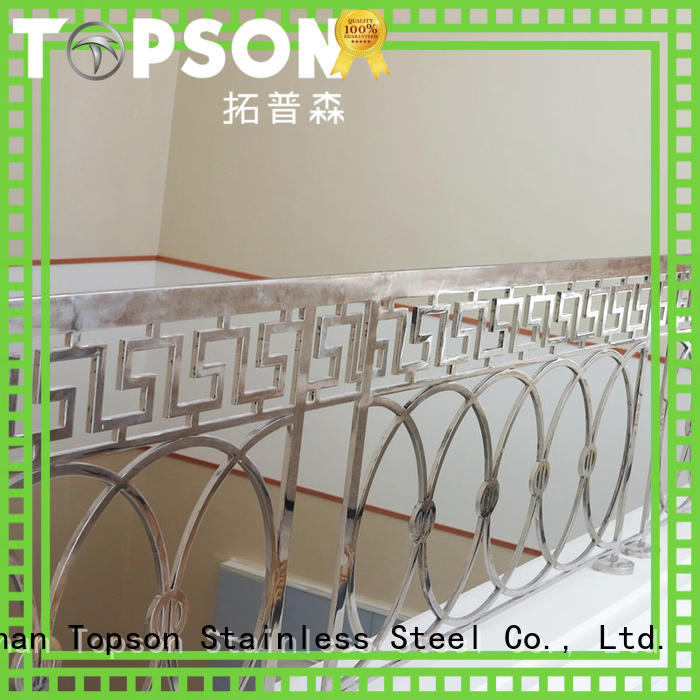 advanced technology stainless steel railings cost staircase Suppliers for hotel
