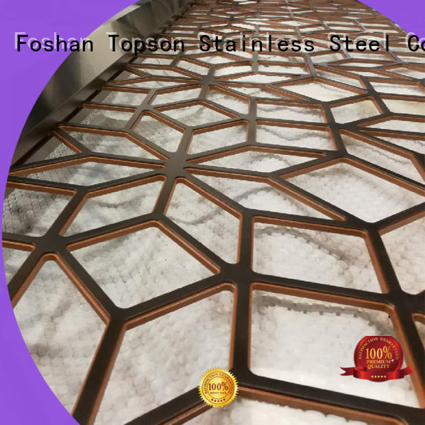 stainless decorative metal mesh screen from china for curtail wall Topson
